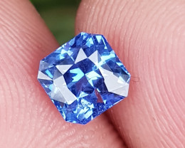 NO HEAT 1.17 CTS CERTIFIED NATURAL STUNNING CORNFLOWER BLUE SAPPHIRE SRI LA