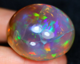 Crystal Opal 159.27Ct Natural Ethiopian Welo Crystal Opal Specimen B1506