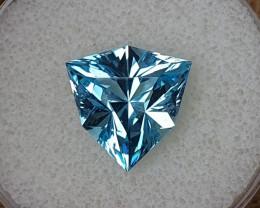 9,15ct Swiss blue Topaz - Master cut!