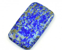Genuine  80.00 Cts  Lapis Lazuli Cabochon V119