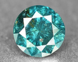 0.17 Cts Sparkling Rare Fancy Greenish Blue Color Natural Loose Diamond