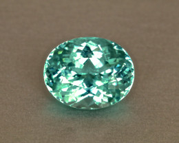 Gleaming Sea Foam Green Tourmaline Oval 4.40ct - Namibian Tourmaline
