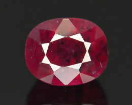 1.35 cts Natural Red Color Ruby - Mozambique