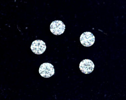 1.6mm D-F Brilliant Round VS Loose Diamond 5pcs
