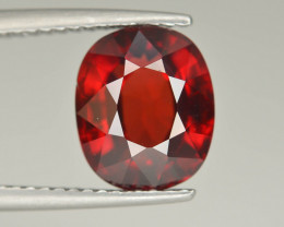 Reddish Orange 4.35 Ct Natural Mahenge Garnet ~  Tanzania