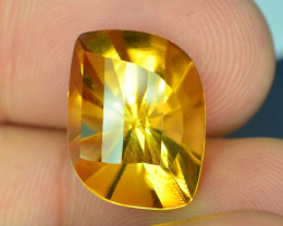 9.75 CT NATURAL LASER CUT CITRINE GEMSTONE