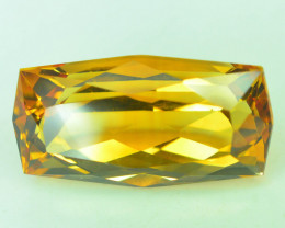 10.10 CT NATURAL LASER CUT CITRINE GEMSTONE