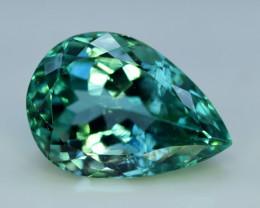 Kunzite, 18.30 Grams Amazing Lush Green Hiddenite Kunzite Gemstone