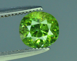GIL Certified Top Highest Quality 1.19 ct Demantoid Garnet