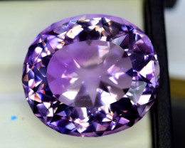Amethyst, 42.75 Cts Natural Top Color & Cut Amethyst Gemstones