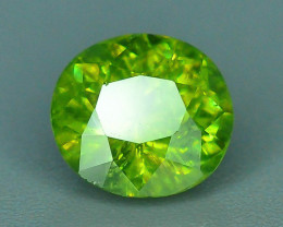 GIL Certified Top Highest Quality 1.26 ct Demantoid Garnet