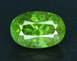GIL Certified Top Highest Quality 1.94 ct Demantoid Garnet
