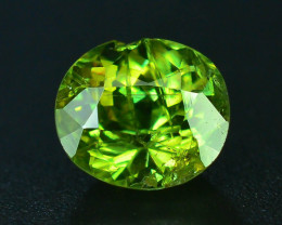 GIL Certified Top Highest Quality 1.11 ct Demantoid Garnet