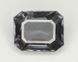 Top Asscher Cut 1.05 CT Dazzling Color Natural Spinel  From Mogok