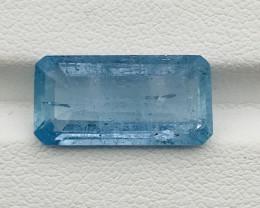 6.60 Carats Natural Santa Maria Aquamarine Gemstone