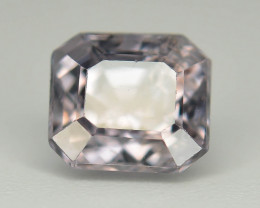 Top Asscher Cut 1.25 CT Dazzling Color Natural Spinel  From Mogok