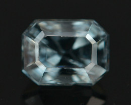 Top Asscher Cut 1.15 CT Dazzling Color Natural Spinel  From Mogok