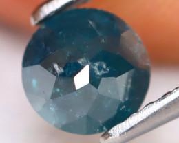 Blue Diamond 0.87Ct Natural Dome Cut Fancy Blue Diamond A1612