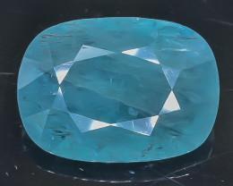 11.27 Crt Natural Rare Grandidierite Faceted Gemstone.( AB 50)