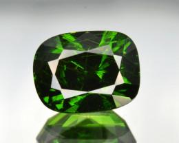 Natural Demantoid Garnet 2.79 Cts, Full Sparkle Faceted Gemstone