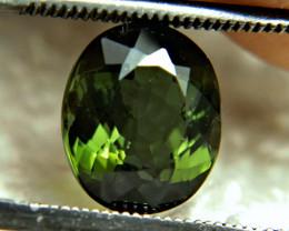 1$NR - 3.36 Carat Green VS/SI Nigerian Tourmaline - Superb
