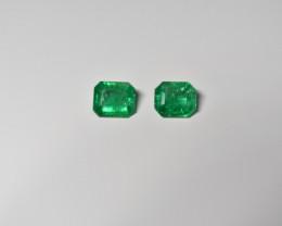 2.43 Carats Vivid Green AFGHAN (Panjshir) Emerald!