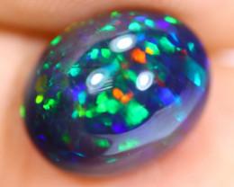 3.23cts Natural Ethiopian Smoked Black Opal / RD1170
