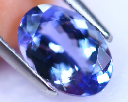 2.68cts Natural Violet Blue D Block Tanzanite / RD1133