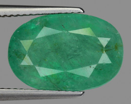 6.91 Cts Gorgeous Color Emerald ~ Zambian EZ5