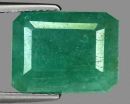 5.48 Cts Gorgeous Color Emerald ~ Zambian EZ12