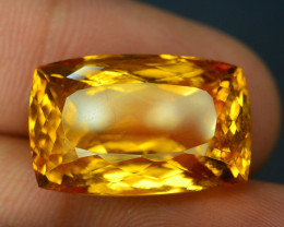 Laser Cut Citrine~19.40 CT Natural Top Quality Gemstone