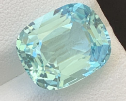 AIGS  Certified 8.05  Carats Natural Paraiba Tourmaline Gemstone