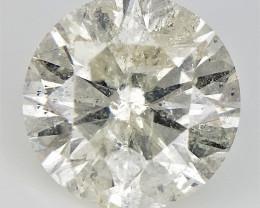 0.93 cts  , Rare Diamond , Natural Yellow Diamond ,  Bright Yellow Diamond