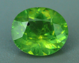 GIL Certified Top Highest Quality 1.07 ct Demantoid Garnet