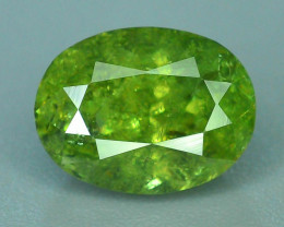 GIL Certified Top Highest Quality 2.31 ct Demantoid Garnet