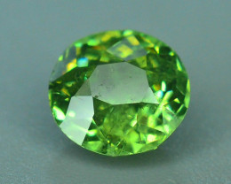 GIL Certified Top Highest Quality 1.03 ct Demantoid Garnet