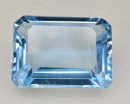 Natural Blue Topaz  13.81 Cts Top Quality Gemstone