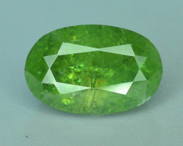 GIL Certified Top Highest Quality 3.50 ct Demantoid Garnet