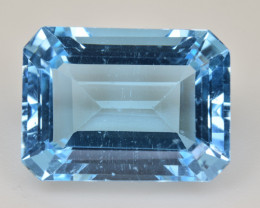 Natural Blue Topaz  13.83 Cts Top Quality Gemstone