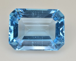 Natural Blue Topaz  13.91 Cts Top Quality Gemstone