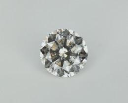 0.45 cts , Light Champagne Diamond , Bright Diamond with Lustre