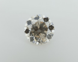 0.41 cts , Shiny Diamond , Diamond For Jewelry , Light Yellow