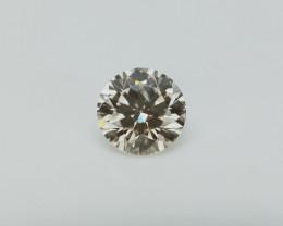 0.46 cts , Dark Brown Natural Diamond , Sparkling Diamond