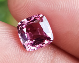 NO TREAT 1.85 CTS NATURAL STUNNING PINKISH PURPLE SPINEL FROM BURMA