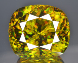 Natural Sphene 28.96 Cts Full Fire and Luster, Ultra Fine Quality