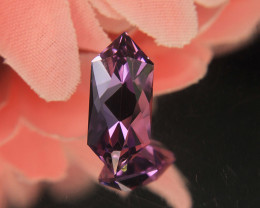 Mast er Cut Amethyst Pendant Cut By Master Cuter