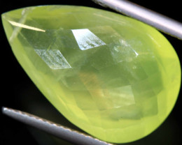 15.10   CTS PREHNITE FACETED BEAD     LG-471