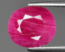 2.94 Cts Amazing rare Natural Pinkish Red Ruby Loose Gemstone