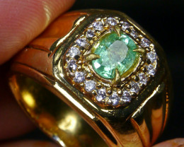 43.80 CT Natural Emerald Jewelry Ring