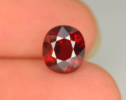 Reddish Orange 2.90 Ct Natural Mahenge Garnet ~ Tanzania